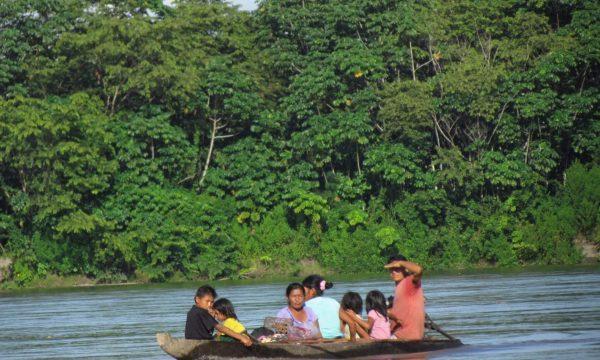 Ein Schulweg über Wasser und Land