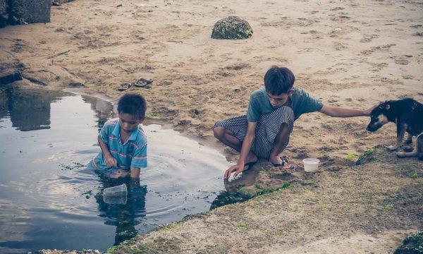 Sauberes Wasser für Tan Hoa