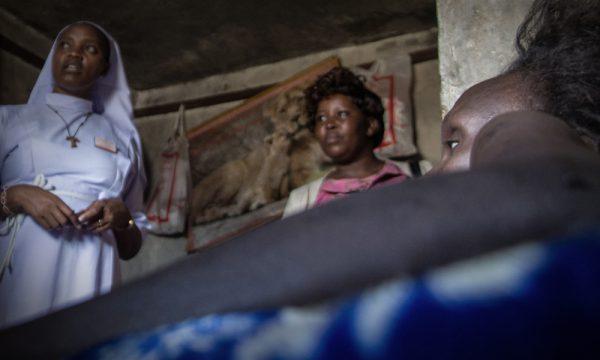 Unterstützung für HIV/Aids-infizierte Menschen in den Slums