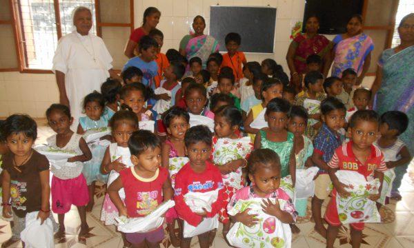 Ein Kindergarten voller Lachen im indischen Chennai