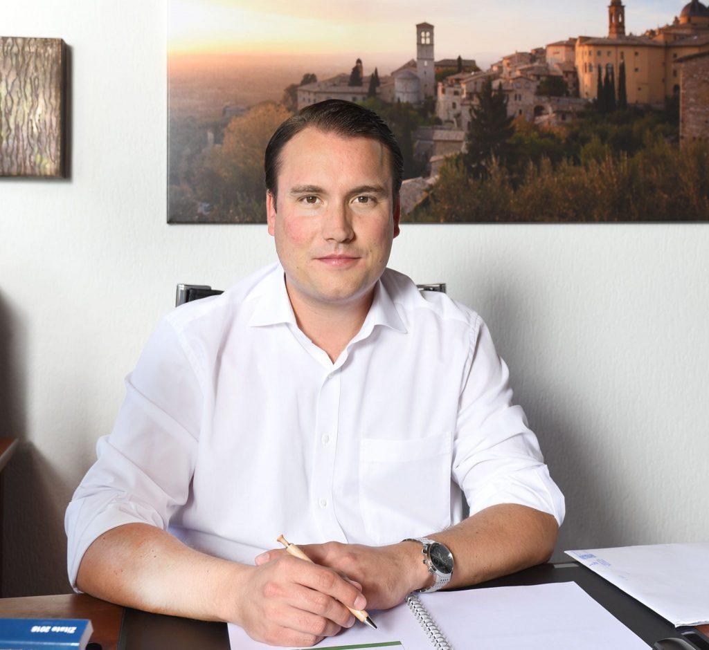 David Reusch - Kfm. Direktor der MZF