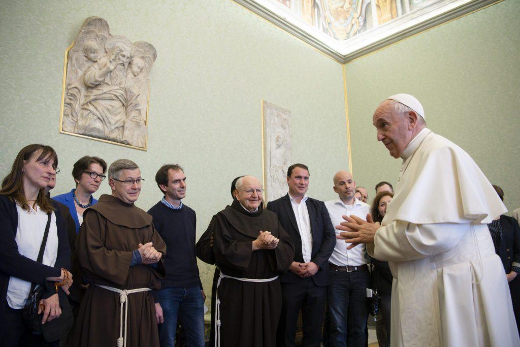Papstaudienz VÖ bitte mit Quellenangabe Vaticanmedia MZF 1