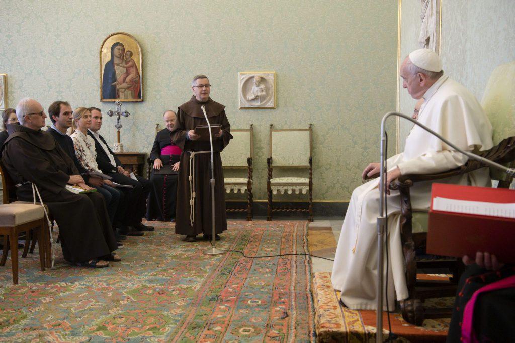 MZF Papstaudienz