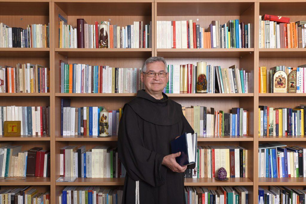 P Prof Johannes B Freyer OFM - Referent für franziskanische Grundsatzfragen bei der MZF