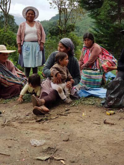 Frauen Bolivien MZF