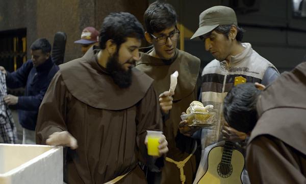 """Die Armenspeisung """"Der gute Samariter"""" in Buenos Aires"""