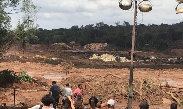 Unterstützung von Opfern der Dammbruch-Katastrophe in Brumadinho