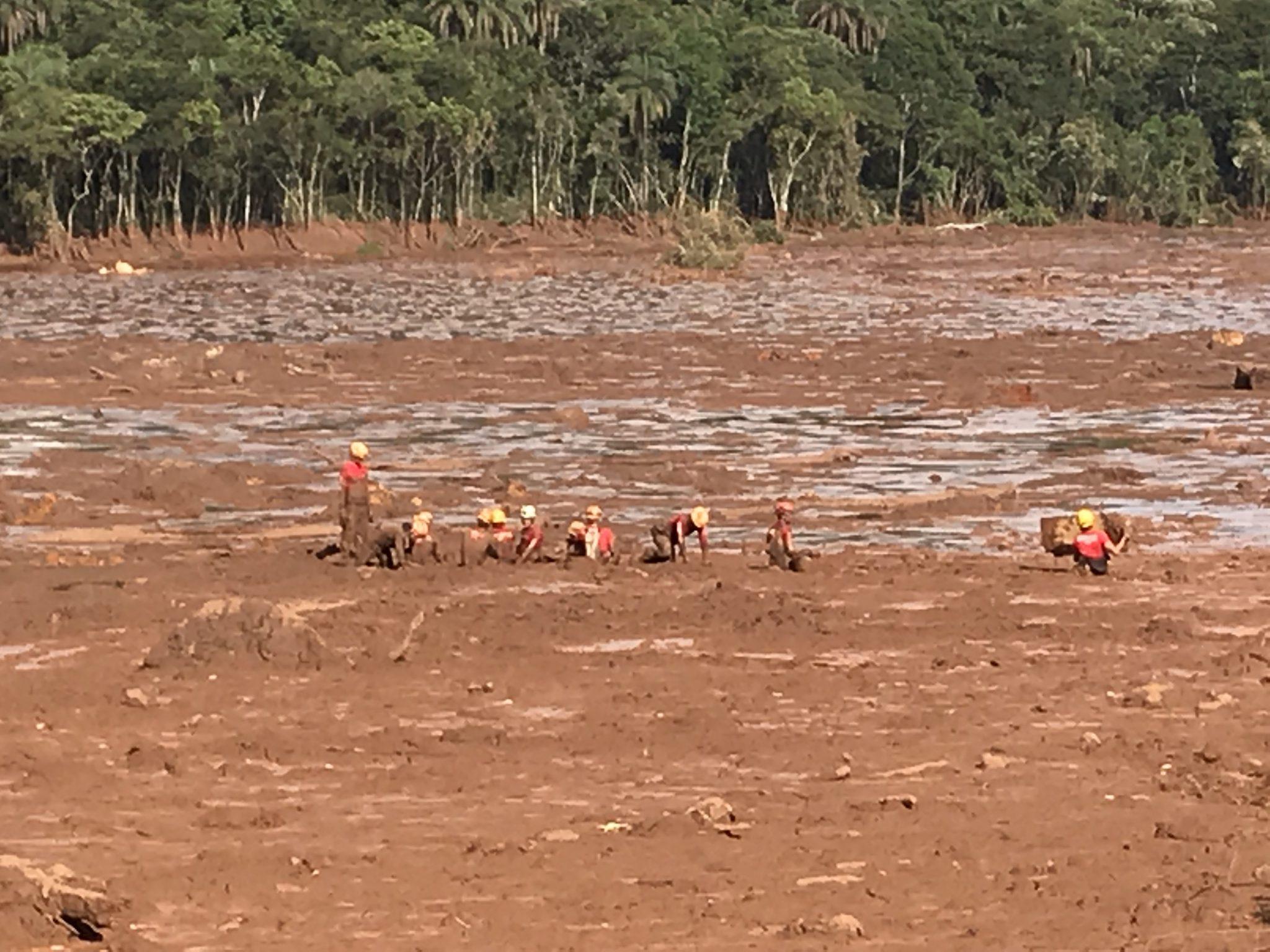 Arbeiter Brumadinho Katastrophe MZF