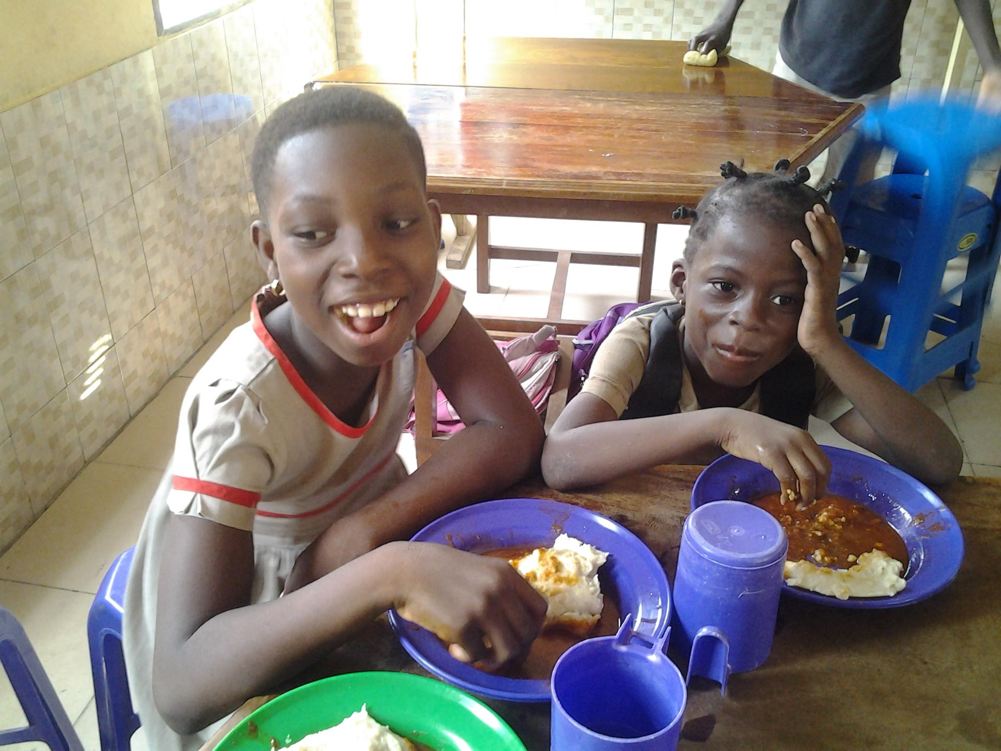 Essen Kinder Togo