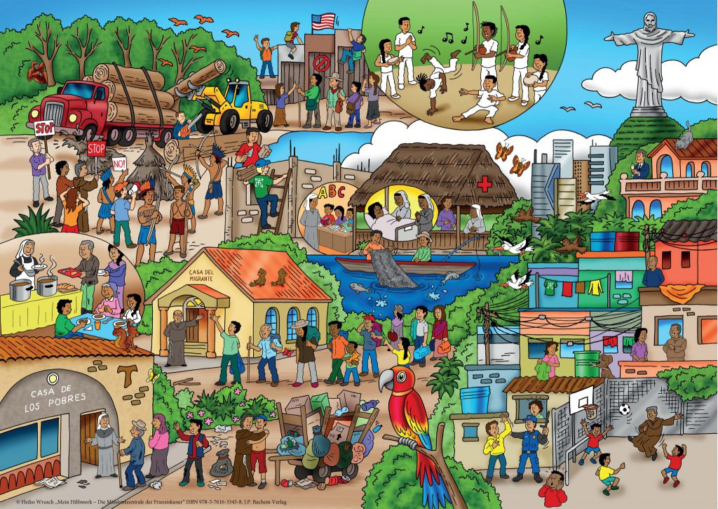 Wimmelbildbuch MZF Seite Südamerika