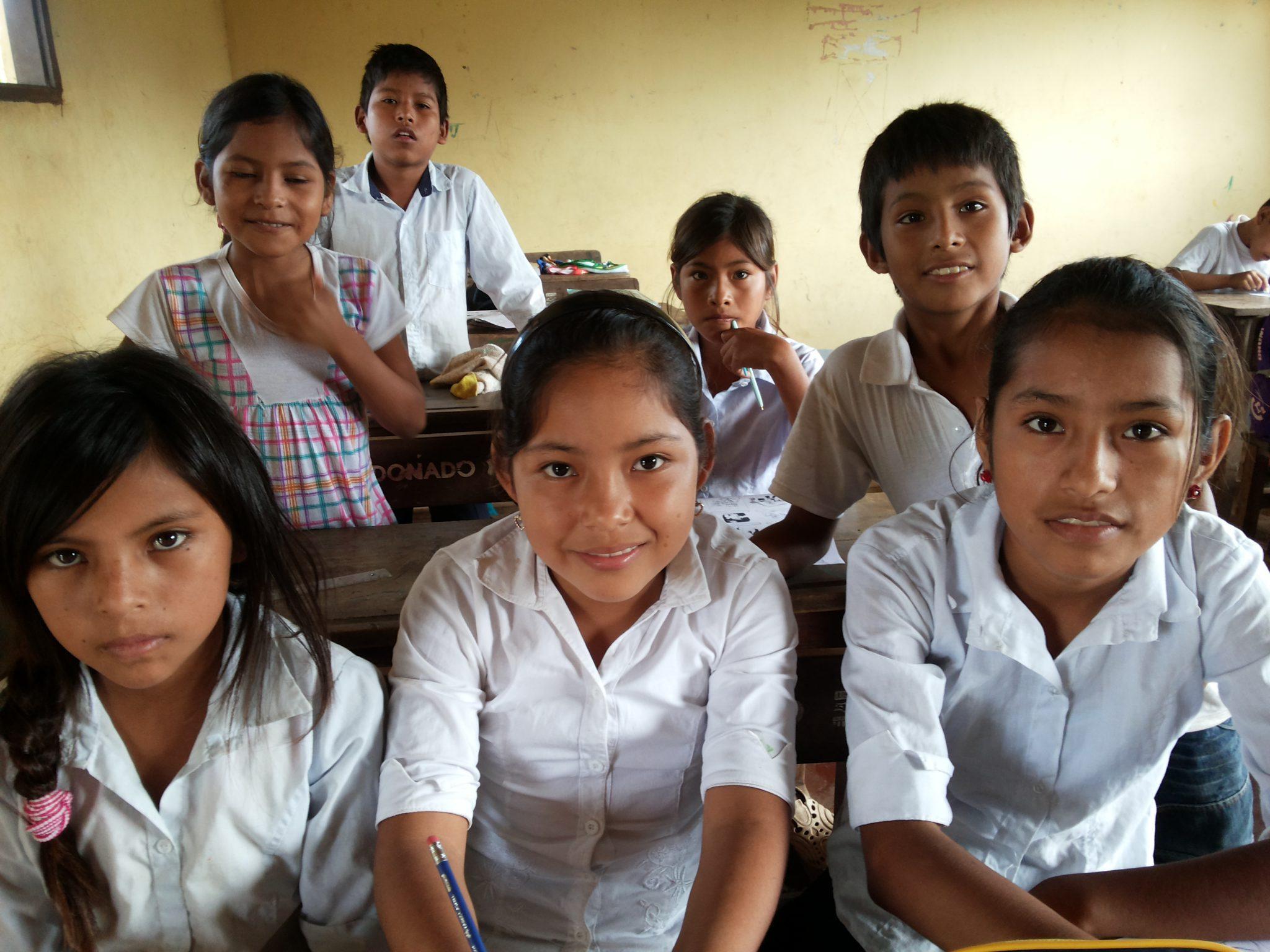 Kinder Bildung Bolivien
