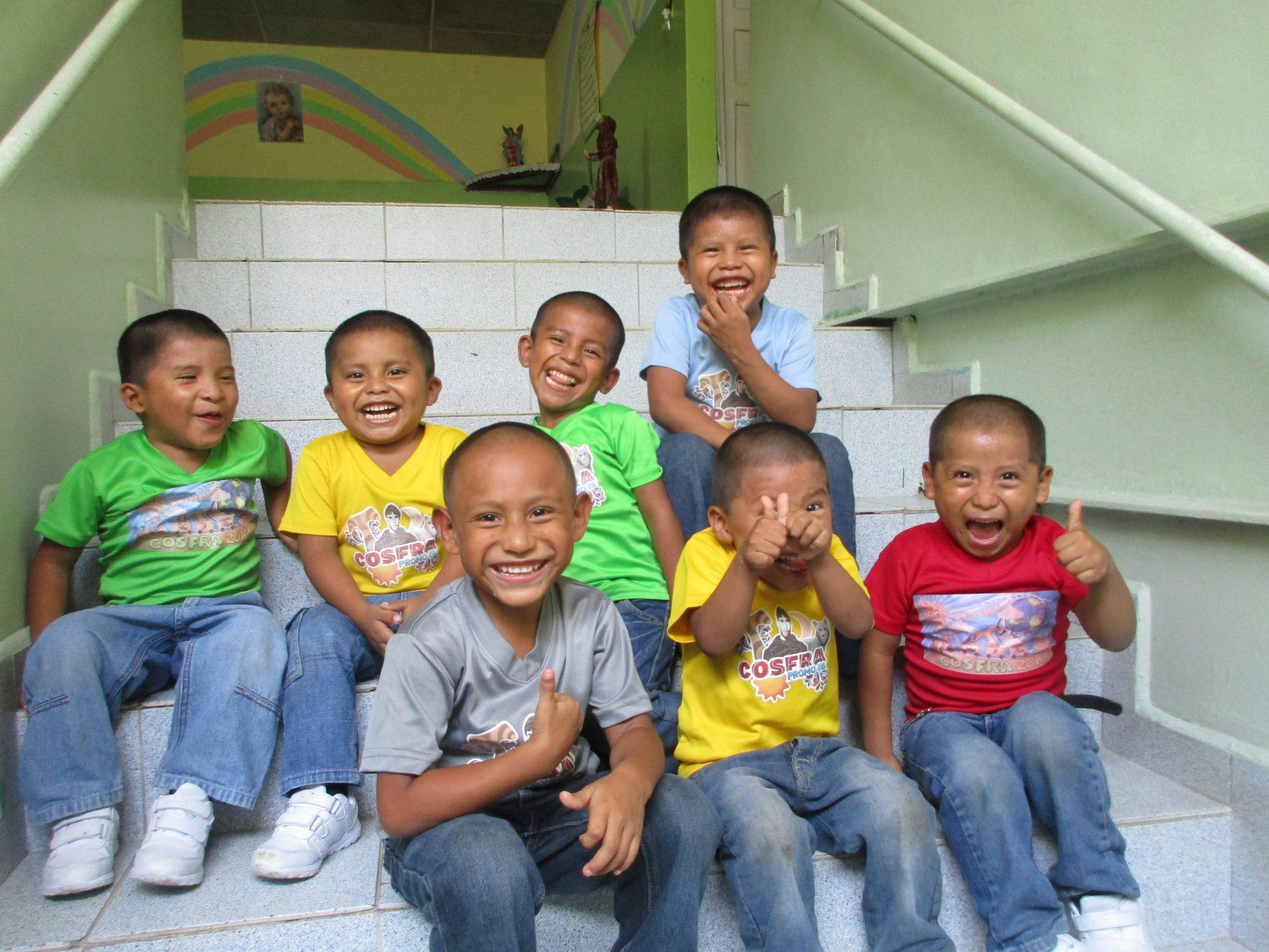 Panama Kinder Lachen