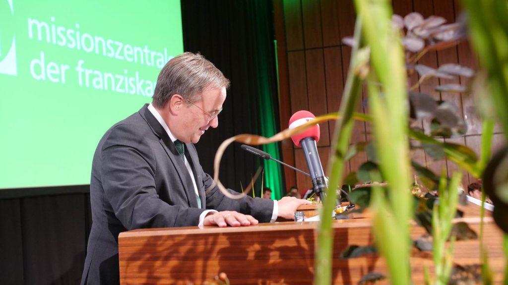 Festrede von NRW-Ministerpäsident Armin Laschet zur MZF-Jubelfeier