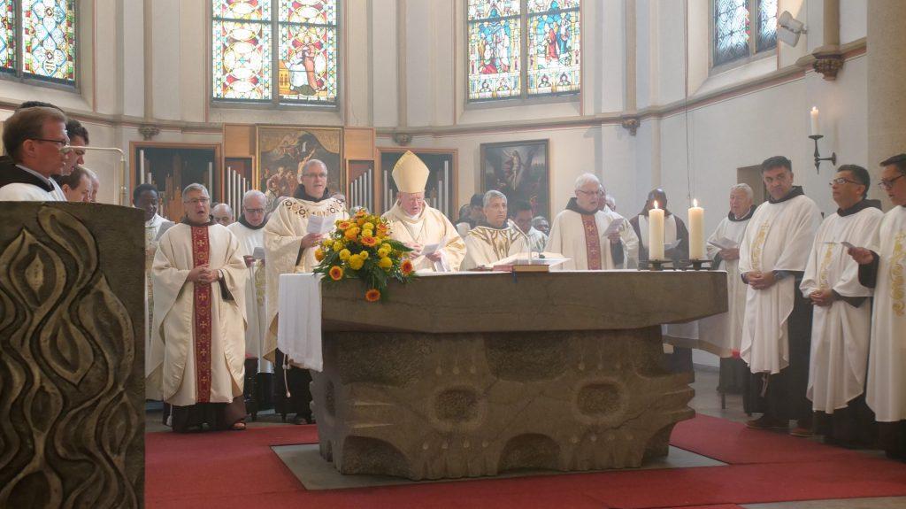 Festgottesdienst zu 50 Jahren mit P. Jaime Spengler OFM (Erzbischof von Porto Alegre