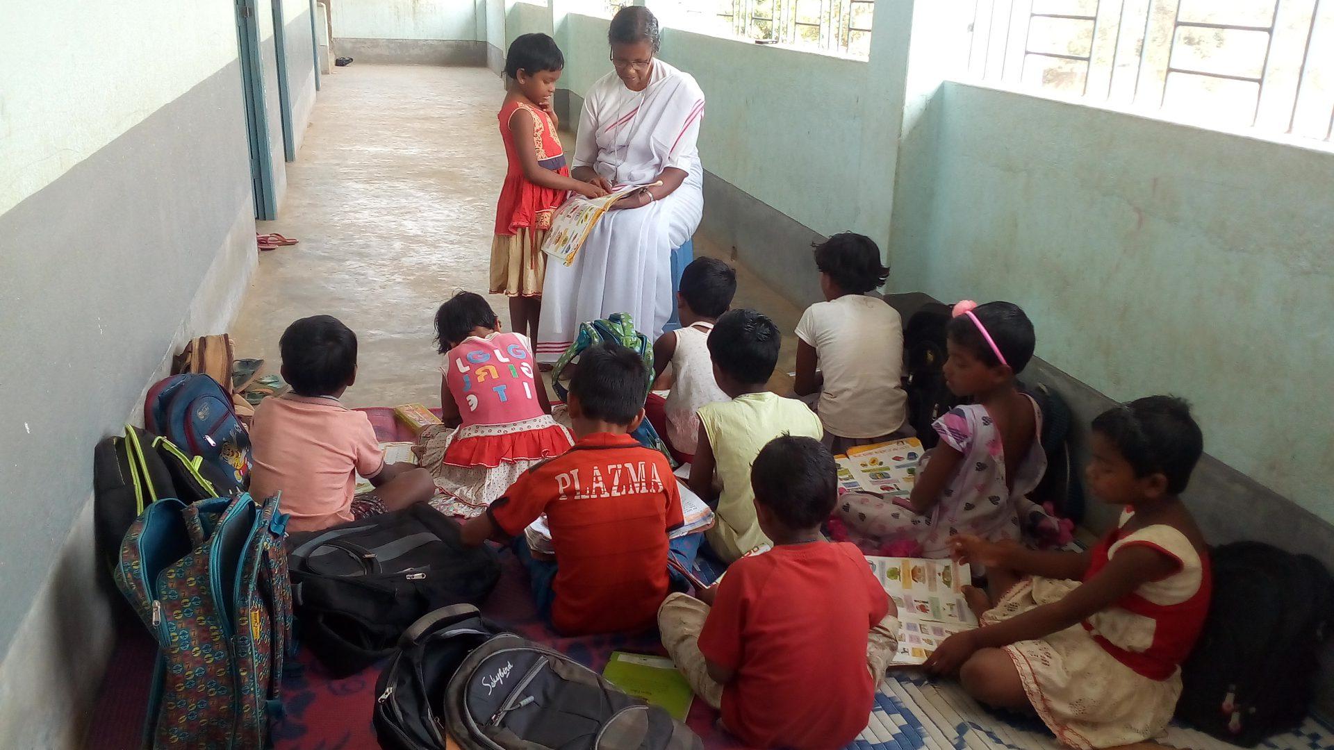 Indien Kinder Gesundheit Lepra Hilfe