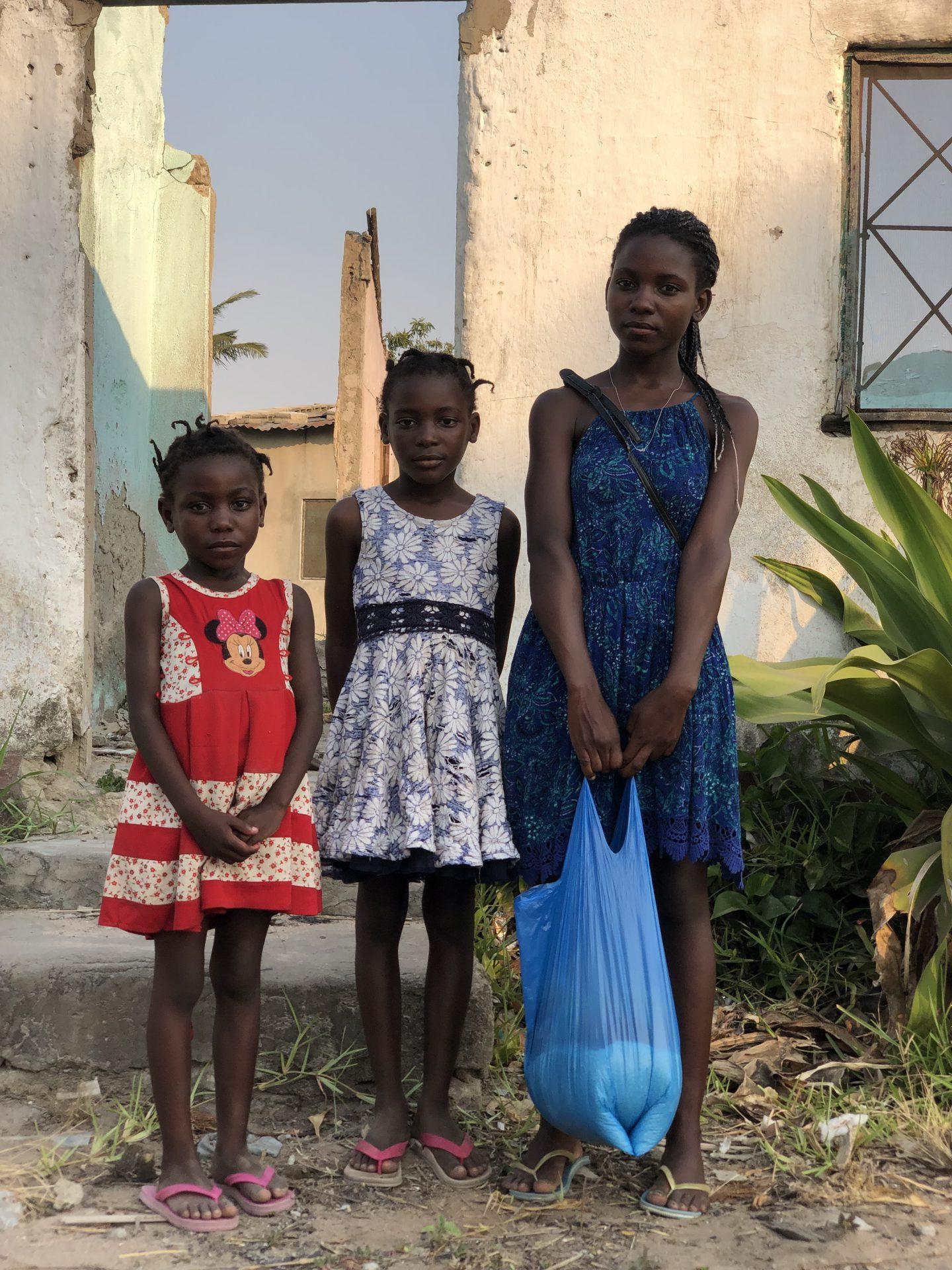 Mosambik Mädchen Hilfe Schule MZF