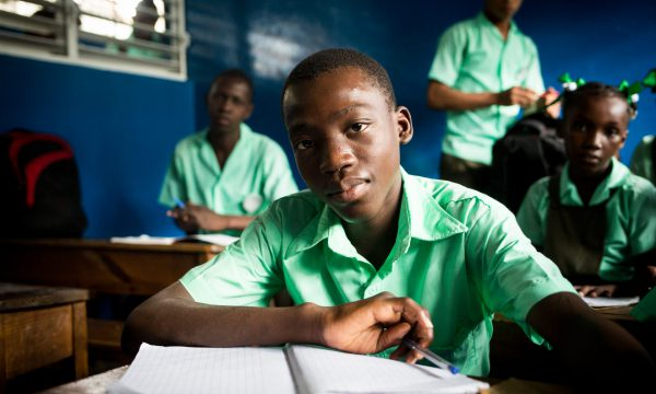 Schüler Haiti MZF