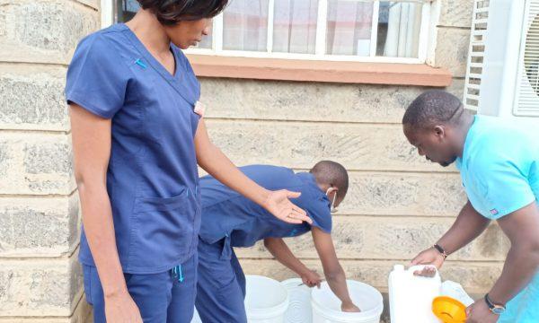 Nothilfe für das Mother Kevin-Krankenhaus der Franziskanerschwestern in Nakuru/Kenia