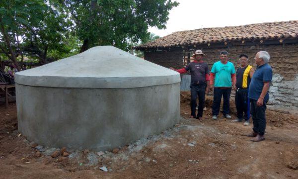 Wiederbelebung von natürlichen Wasserquellen und Verbesserung der Wasserversorgung