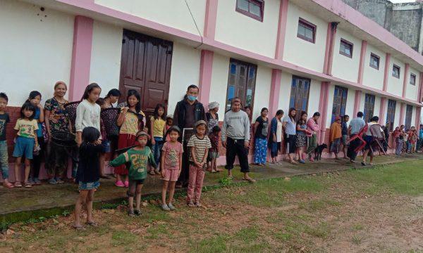 Nahrungsmittel für arme Wanderarbeiter und Tagelöhnerfamilien