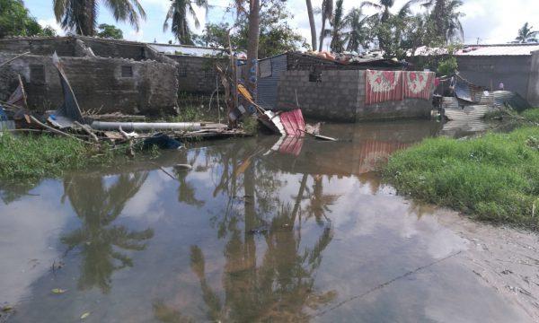"Nothilfe nach Zyklon ""Eloise"" in Mosambik"