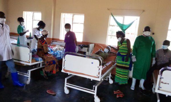 Corona-Nothilfe Uganda