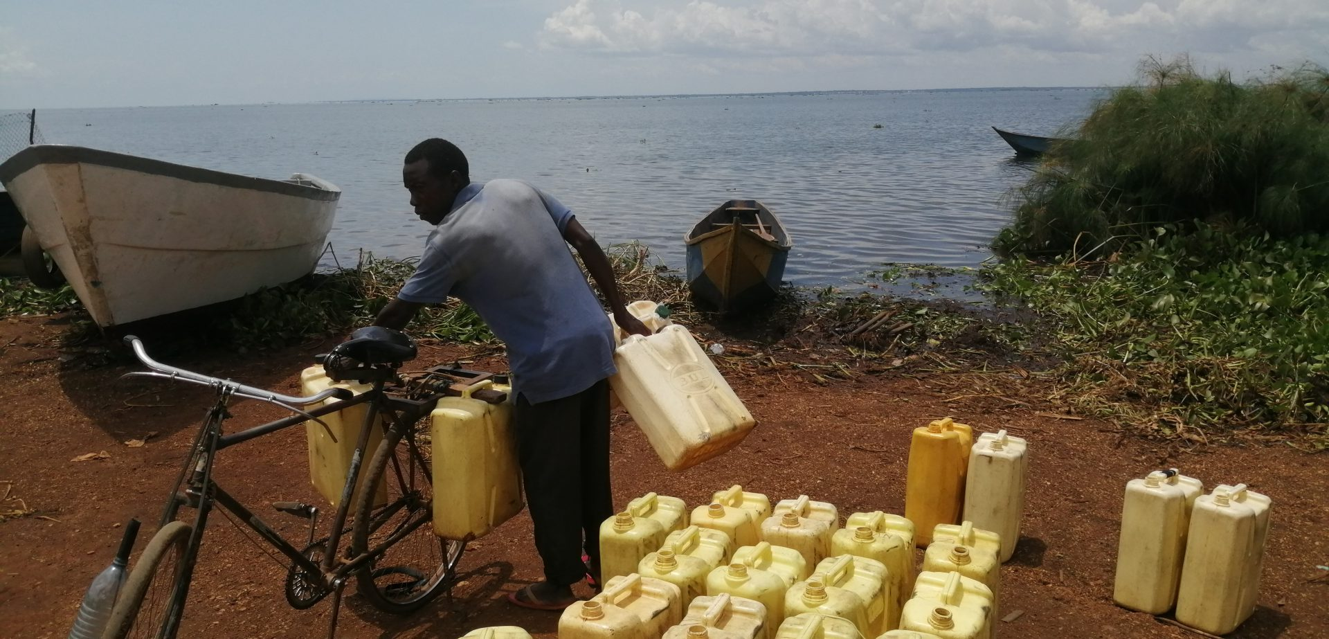 Other People fetch water from the Lake which is some 5kms away